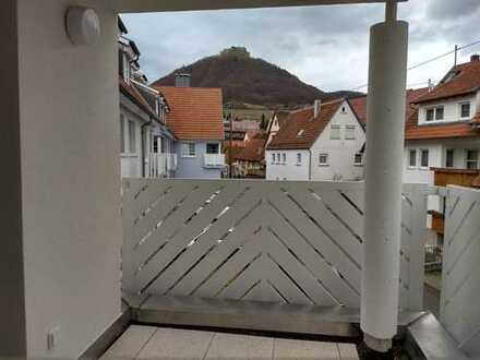 Exklusive 1-Zimmer-Wohnung mit Balkon und EBK von Privat und provisionsfrei