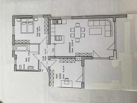 Schöne, geräumige und moderne drei Zimmer Wohnung in Memmingen, Amendingen