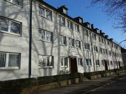 [Befristet] Schöne 2-Zimmer-EG-Wohnung mit Einbauküche und Balkon Nähe S-Rübenkamp