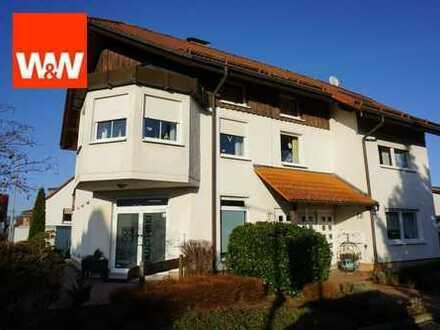 Exclusives Wohn-und Geschäftshaus mit extra Hallenflächen und Garagen