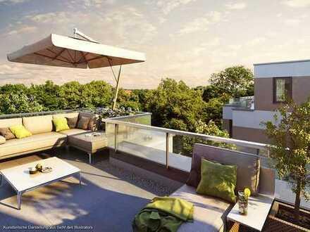 Exklusive Dachterrassenwohnung mit 3,5 Zimmern, zwei Bädern und hochwertiger Ausstattung