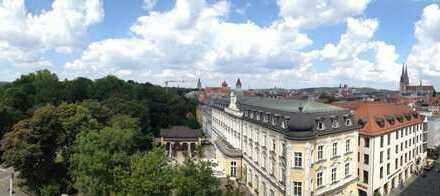 Sehr helle 3 ZKB Wohnung mit EBK und großen Fenstern in sehr guter Lage der Altstadt