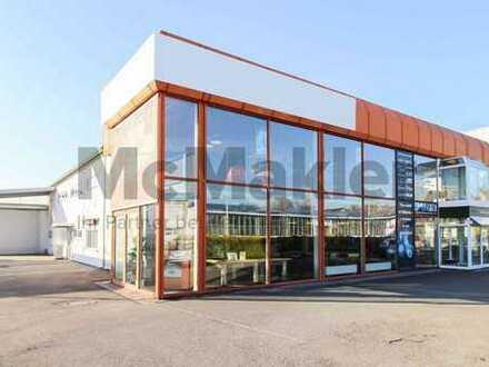 Geräumige Ladenfläche mit großem Lager im Gewerbegebiet Kaiserslautern-West
