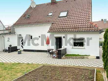 Bestlage in Böckingen: Einfamilienhaus mit Kamin und großer überdachter Terrasse