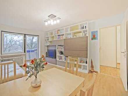 Gepflegte 3-Zimmer-Wohnung mit Balkon, Blick ins Grüne und guter Ausstattung! Ideal für Eigennutzer!