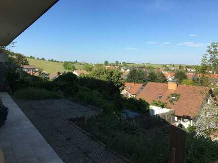Erstbezug nach Sanierung mit Terrasse: schöne 2-Zimmer-Wohnung in Oberotterbach