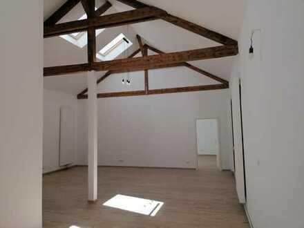 Geräumige 3-Zimmer-Loft-Wohnung mit gehobener Innenausstattung zur Miete in Frankfurt am Main