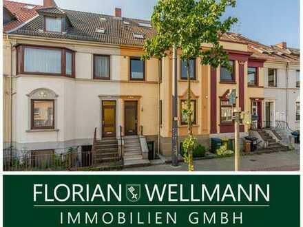 Bremen - Hohentor | Großzügige 4-Zimmer-Maisonette mit 2 Balkonen und enormen Gestaltungspotenzial