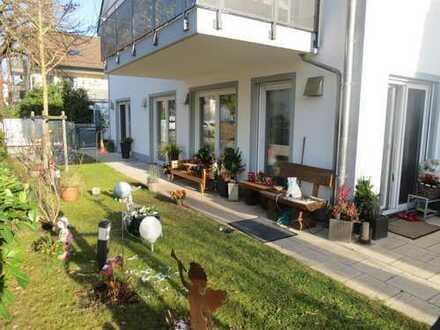 Geräumige 3 - Zi. Gartenwohnung mit Hobbyraum in ruhiger Lage