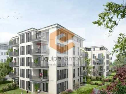 Neue Wohnung für die kleine Familie mit schönem Ausblick ins Grün!