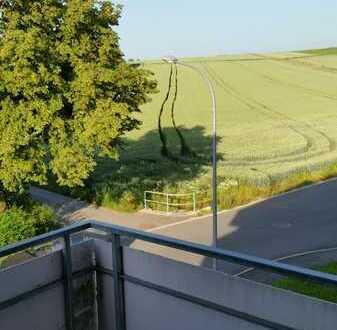 1-Zi.-Wohnung mit großem Balkon und toller Aussicht, ruhige Ortsrandlage