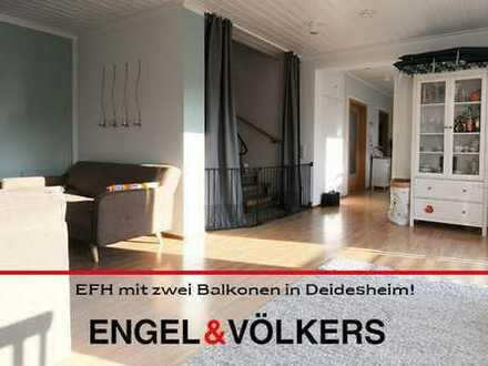 Gemütliches EFH mit zwei Balkonen in Deidesheim!