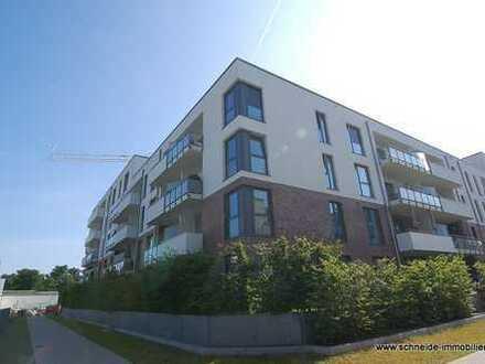Zentralgelegene 3-Zimmer-3. OG-Wohnung mit Balkon und schönem Weitblick über Bergedorf