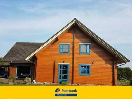 Traumhaus aus Holz - ggf. zusätzlicher Bauplatz 600m² optional zu erwerben!