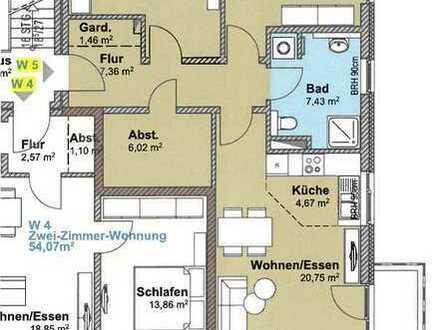 3-Zimmer-Neubauwohnung, Balkon und Stellplatz in Rosdorf