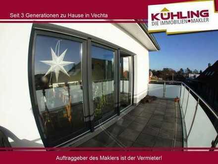 ***Moderne 2 Zimmer-Penthousewohnung in Vechta***