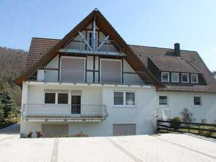 Gepflegte 3-Zimmer-Wohnung mit Balkon und Einbauküche in Starzach - Sulzau
