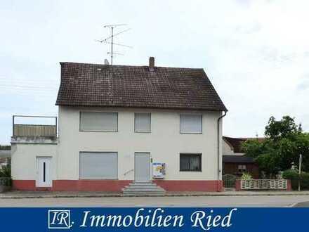 Einfamilienhaus mit Potential zur persönlichen Gestaltung in zentraler Lage von Ziertheim