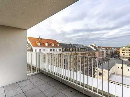 Über den Dächern! Hochwertige 4 Zimmer mit EBK & Balkon & Gäste Bad