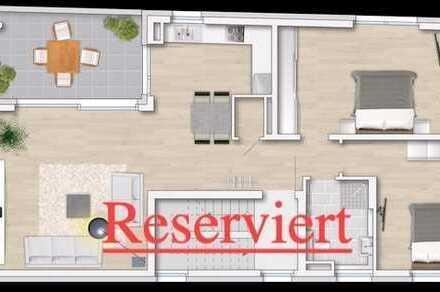Reserviert !!! Moderne 2 1/2 ZKB Neubau-Eigentumswohnung (1.OG) in zentraler Lage