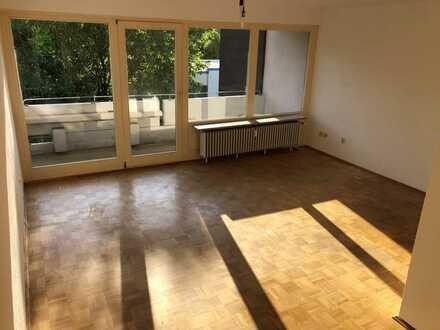 Kanzlerfeld: Lichtdurchflutete 2-Zimmern-Wohnung mit großem Westbalkon