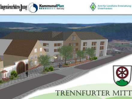 Neue Ortsmitte! Gewerbeeinheit mit neu gestaltetem Vorplatz - ideal für Café oder Dorfladen!