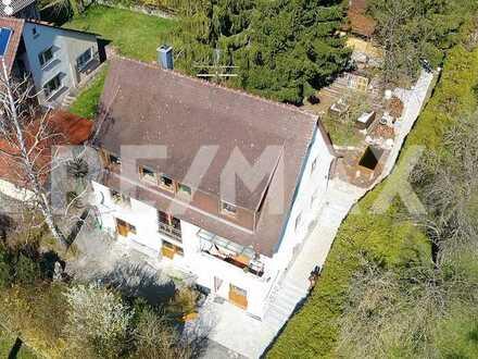 Mehrfamilienhaus für Kapitalanleger in Traumlage mit 4000m² großem Grundstück.