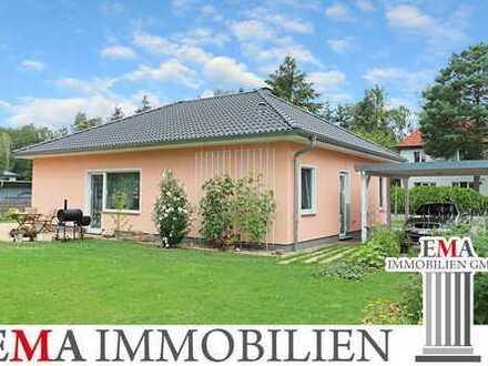Neuwertiges Einfamilienhaus im Bungalowstil