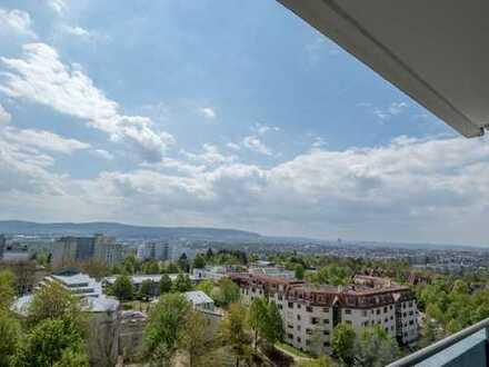 Moderne, gepflegte 3,5 Zimmerwohnung in Waiblingen / Korber Höhe mit atemberaubender Aussicht
