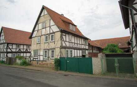 Fachwerkhaus mit Scheune und schönem Garten - im Werra-Meißner-Kreis, Meinhard-Grebendorf