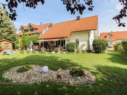 Familientraum im Grünen: 5 Zimmer und sonnige Gartenoase nahe dem Bodensee