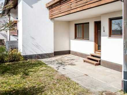 Attraktive sonnige 2-Zimmer-Hochparterre-Wohnung mit Balkon und EBK in Wimsheim