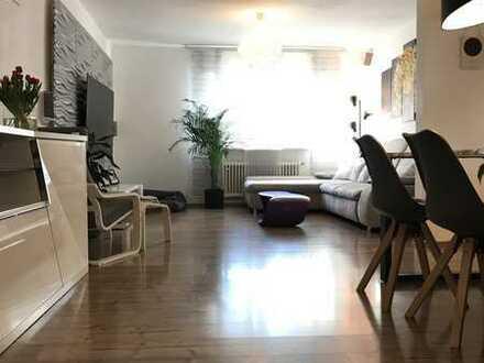 Modernisierte 3-Raum-Erdgeschosswohnung mit Terrasse und Garten in Ketsch