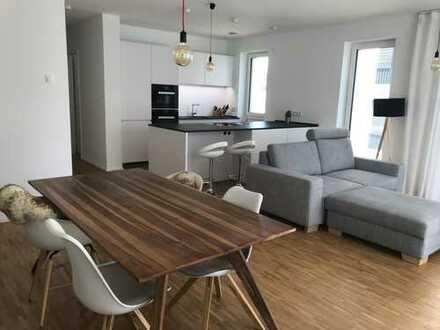 Stilvoll möblierte 3- Zimmer Wohnung am Henninger Turm (2019) in Sachenhausen Süd