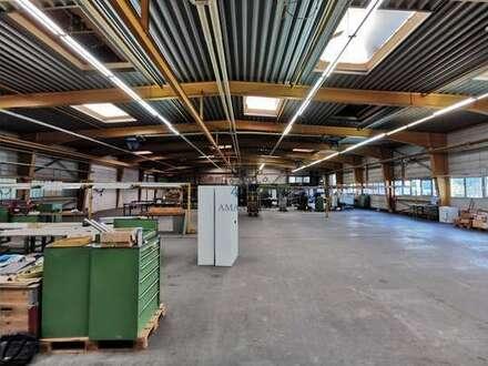 Produktions- und Lagerflächen mit Büroanteil zu vermieten!