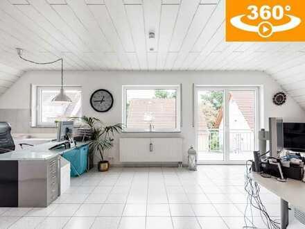Helle, moderne 3 Zi.-Whg. (96 m²) mit großzügiger Ausbaureserve in ruhiger Lage von Dieburg