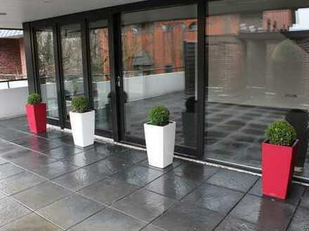 Schöne, helle 4-Zimmer-Maisonette-Wohnung mit Balkon und Einbauküche in Cloppenburg Innenstadt