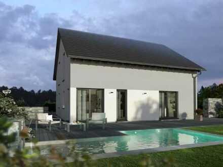 Durchdachte Architektur - Einfamilienhaus inklusiv Grundstück