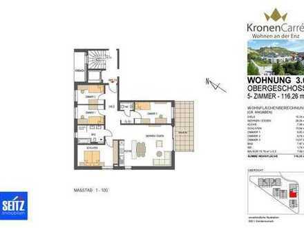 KronenCarré - Wohnen an der Enz