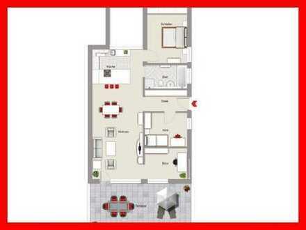 Moderne Neubauwohnung mit Süd-Terrasse und 2 Stellplätzen inklusive!