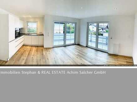 MIETE: Neubau-Erstbezug - Hochwertige 3-Zimmer-Wohnung mit Bergblick in zentraler Lage von Bernau