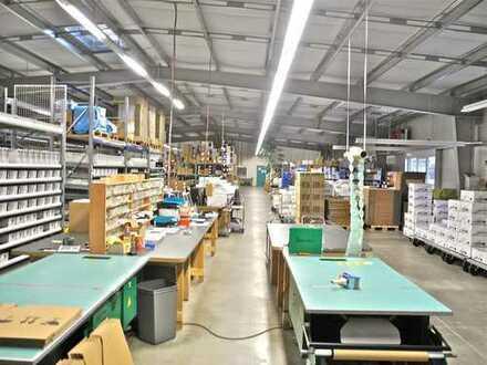 Neuwertige Hallenfläche für Produktion, Werkstatt, Lager, Logistik oder Großraumbüro in Cottbuser