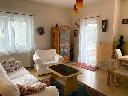 Attraktive 3 Zi.- Maisonette-Wohnung mit großzügiger Terrasse in OF-Rumpenheim