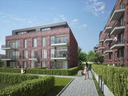 Hochwertiges Penthouse inklusive zwei Terrassen mit S/W-Ausrichtung in zentraler Lage von Wandsbek