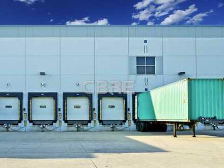 10.000 m² | Rampen | 24/7-Nutzung | Sprinkler | Neubau | Provisionsfrei