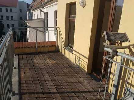 **4-R-Dachgeschoß-WE mit Balkon - Görlitz**