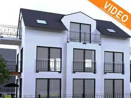 3 ZKB mit Balkon und Dachterrasse in kleiner Wohnanlage.