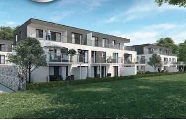 Erstbezug: stilvolle 3-Zimmer-Wohnung mit Balkon in Urbach Auwiesen, mit gehobener Ausstattung