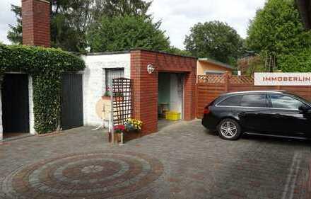 IMMOBERLIN: Schnuckeliges Einfamilienhaus auf großem Grundstück in schöner Lage
