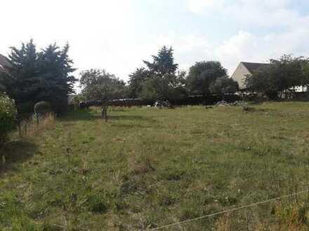 Grundstück in ruhiger ländlicher Lage